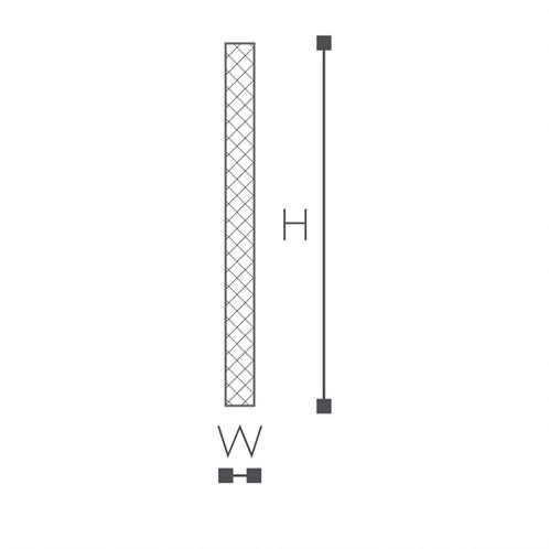 Напольный плинтус с гладким профилем NMC FL9