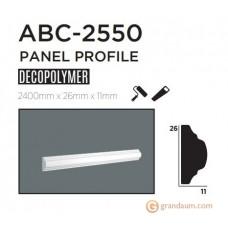 Молдинг с гладким профилем Decolux ABC2550