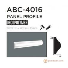 Молдинг с гладким профилем Decolux ABC4016