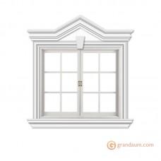 Обрамление окон для фасада решение 8